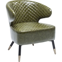 Kare Design Fauteuil Cocktail Chair Session - Groen