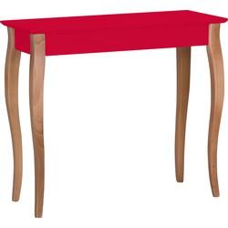 Wandtafel LILLO 85 cm medium rood
