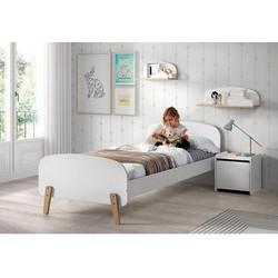 Vipack Kinderbett inkl. Lattenrost, MDF-Oberfläche