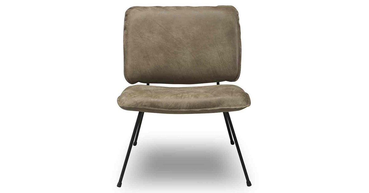 SHABBIES AMSTERDAM - Fauteuil - Leer Taupe
