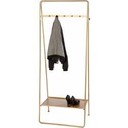 Kapstok Amaro goud 179cm
