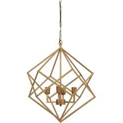 Light&Living kroonluchter Drizella goud 3L 68 x Ø61