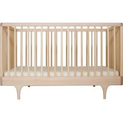 Kalon Studios Kalon - Babybett Caravan Crib, Ahorn / Ahorn natur geölt