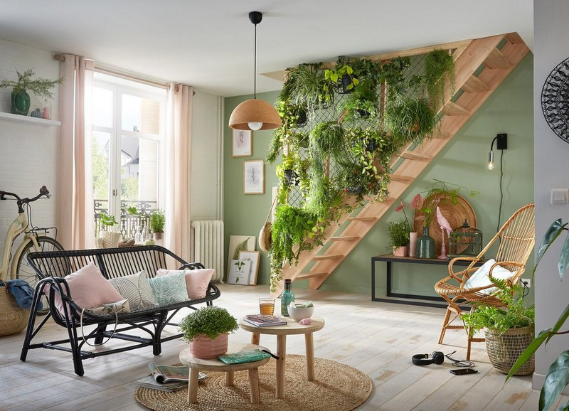 Inspiratie: een verticale tuin binnen