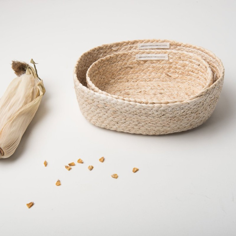 Baskets Corn - Set Of 2 -