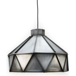Hanglamp Triangle Antiek Zink - Label51 - 42 x 42 x 32 cm
