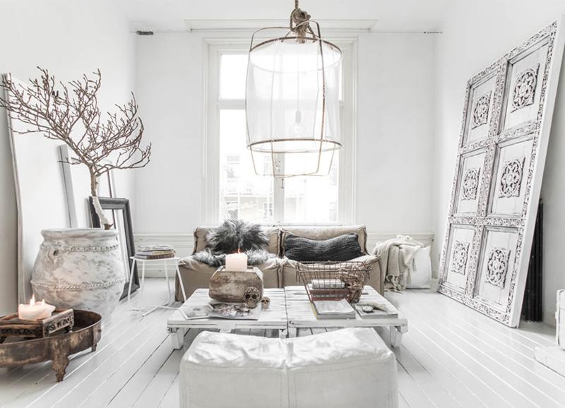 10x de mooiste (bijna) all white interieurs