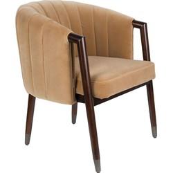 Dutchbone fauteuil Tammy Caramel 78 x 64 x 63,5