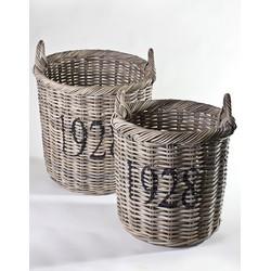 Rieten Koboo manden L en M set van 2 '1928'