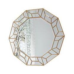 Celeste Mirror, Gold, 114 x 104cm