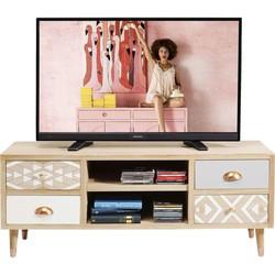 Kare Design TV Meubel Oase - Hout - 118 X 38 X 47 Cm