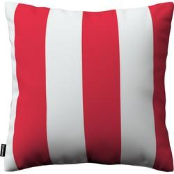 Kussenhoes Kinga rood-wit