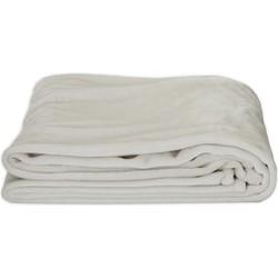 Plaid Flannel Myrthe - 130x170cm - Ecru
