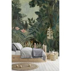 Zelfklevend behang Jungle 250x250 cm