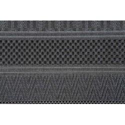 Garden Impressions Buitenkleed Stripes donker grijs 120x170 cm