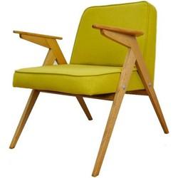 Mid-Century fauteuil Bunny - Deens Design - geel