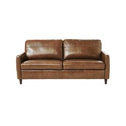 John Lewis Dalston Large Leather Sofa