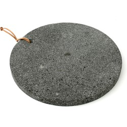 The Lava Stone Cutting Board - Black