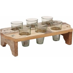 PTMD Butler Wood Cream Tray S