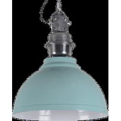 Hanglamp Sorrento 42 cm vintage green + witte binnenzijde