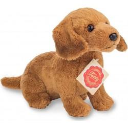 Knuffel Hond Teckel Bruin - Hermann Teddy