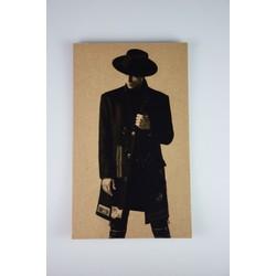 Deco schilderij HG op hout #13 (15cmx25cm)