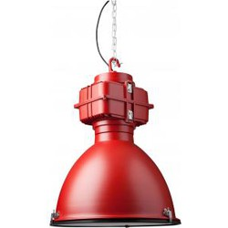 Hanglamp Industry - Industrieel - Rood - Aluminium - DYYK