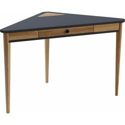 ASHME corner desk grafiet