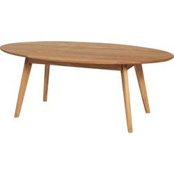Yumi coffee table - Salontafel - L130 x B65 x H48 cm - Naturel