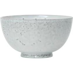 HK-living schaaltje, dessertschaaltje keramiek wit  Ø 12 cm 12x12x6,5cm