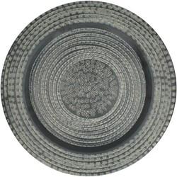 plate aluminium black 48x48x1cm