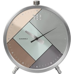 Cloudnola Rubik Silver Alarm Clock - wekker
