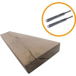 Blinde Plankdrager met Eiken Rustiek