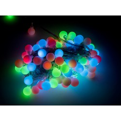 Groenovatie LED RGB Multicolour Feestverlichting Prikkabel, 10 Meter, Waterdicht IP44