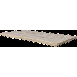 Boomstam tafelblad - 200x100 cm - massief eiken