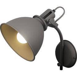 LABEL51 - Wandlamp Spot 18x32x30 cm - Industrieel - Grijs
