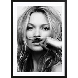 Kate Moss - Life Is A Joke (21x29,7cm)