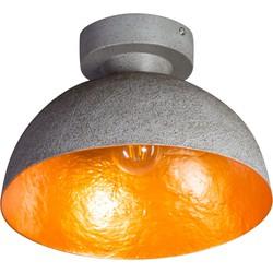 ETH Plafondlamp Mezzo tondo beton-goud