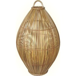 EEK A++, Tischleuchte Caranna - Rattan - 1-flammig, Eva Padberg Collection