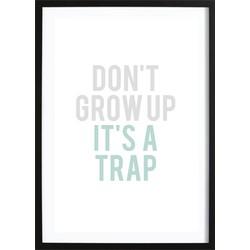 Don't Grow Up Mint (70x100cm)
