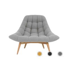 Kolton fauteuil, opaalgrijs