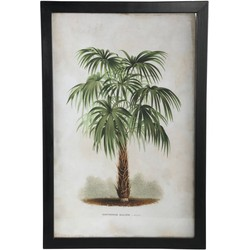 PTMD Esra wood black Picture frame rectangle tree a