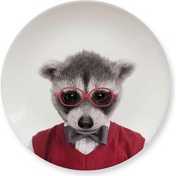 Mustard Wild Dining Bord 20 cm - Raccoon