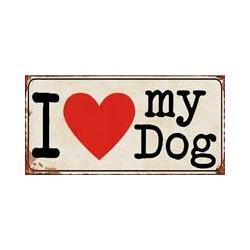 magneet I Love My Dog
