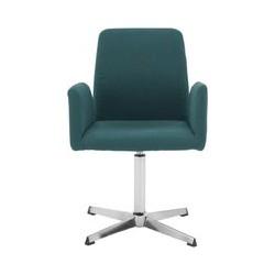 Grant bureaustoel, parelmoerblauw