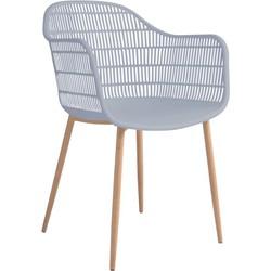 Tamy - Set van 2 stoelen - Grijs