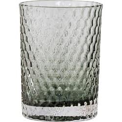 Bloomingville - Glas-Zahnputzbecher, grau