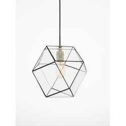 Geometrische lamp Yaz van Hart & Ruyt - 25cm - Zwart