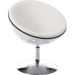 Kokoon Sphere design stoel - wit