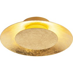 Modern Round Ceiling Lamp Gold incl. LED - Sun